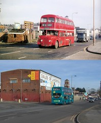 Prescot Road, Stanley, Old Swan, 1971 and 2019 (Keithjones84) Tags: oldliverpool thenandnow liverpool rephotography