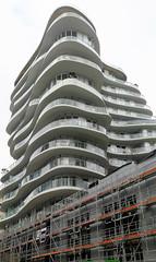 Contemporary architecture in  Paris 17th -New Clichy-Batignolles district (Sokleine) Tags: zac clichybatignoles urban écoquartier architecture contemporary building immeubles paris 75017 parcmartinlutherking france