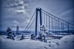 HKB 20190308 (johan.bergenstrahle) Tags: 2019 architecture arkitektur aurorahdr bridge bro captureone finepicsse hdr landscape landskap march mars sverige sweden vinter winter