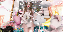 ♥♥♥ (ღ ღ[[J E SSIE ]] ღ ღ) Tags: thearcade themystic body maitreya catwa cute limerence secondlife sl second life gacha unicorn