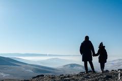 foggy day (N.Batkhurel) Tags: season spring sky fog mongolia mountian people ulaanbaatar ngc nikon nikond5200 natur nikkor