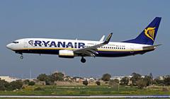 EI-DHR LMML 05-03-2018 Ryanair Boeing 737-8AS CN 33822 (Burmarrad (Mark) Camenzuli Thank you for the 17.2) Tags: eidhr lmml 05032018 ryanair boeing 7378as cn 33822
