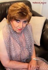 Sheer delight! (rebeccajaynegrey) Tags: crossdresser transvestite transgender crossdress cd tgirl tg crossdressing