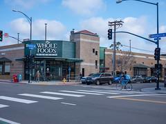 Whole Foods 7th Ave. (Joe Wilcox) Tags: fujigfx50r fujifilm sandiego streetphotography wholefoods grocerystores amazon