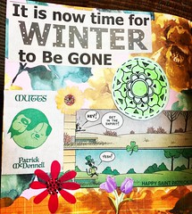 Junk Journal Collage Page (stashheap) Tags: junkjournal doodle spring collage