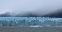 The Approach (Explored) (jmaxtours) Tags: theapproach glacier peritomorenoglacier losglaciaresnationalpark argentina ice lake lakeargentino rainy explored