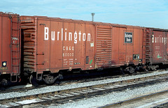 CB&Q Class XM-32D 60000 (Chuck Zeiler 54) Tags: cbq class xm32d 60000 burlington railroad boxcar box car freight cicero train chuckzeiler chz