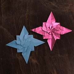 (mehjg) Tags: origami morigami star roseofthewinds