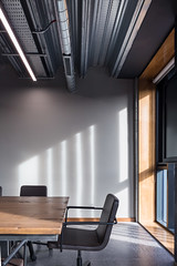 Cooney Architects _ Kilmainham Office and Training Centre _ 2018 _ Dublin _ Meeting Room (SteMurray) Tags: approved cooney architects architecture ireland irish stemurray steie hairdressing school academia architectural photographer photography tall building shadows facade