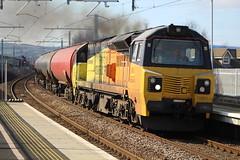 CAMELON 70801 (johnwebb292) Tags: camelon diesel class 70 70801 colasrail