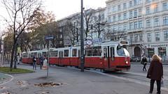 2015-11-16 Wien Tramway Nr.4013 (beranekp) Tags: austria österreich wien tramway tram tramvaj tranvia strassenbahn šalina elektrika električka 4013