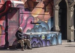 The Afternoon Sun (J MERMEL) Tags: nyc nolita older man afternoon sun
