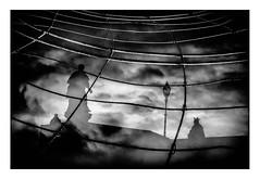 Weltuntergang - Doomsday - Fin du monde (wolfiwolf) Tags: wolfiwolf wolfi wolf wolfiart wolfskunst wolfiwolfy eneamaemü kunsti stube stüben storm sky gitter grid diagonal statue lamp netz clouds verwunschen alb albdrücken märchen marieschen multiverse multiversum doppelbelichtung meinedoppelbelichtung sw sonntag wolfiswerk licht lichtkomposition art butler bildlen bluenote composition dassein existenz farkas genie huldigung ich ichhabezweibutler jazzinbaggies kleinewolfis befreieteuch freeyourself meinneuesbildlen neu new offenbaren puls quantensuppe quantensymphonie resonanz schöpfung stimmung tanz universe universum unendlichkeit ursprung uber vollmond vignette explore elysium zen zentrum zeigen grain episch überepisch