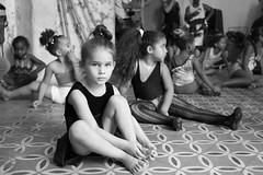 Little Ballerina (michael.mu) Tags: 35mm cienfuegos cuba leica mm246 monochrom dance yellowfilter leicasummicronm1235mmasph school balet ballerina student portrait