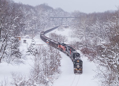 Merry Christmas (Nolan Majcher) Tags: ic illinois central 1038 emd sd70 ble bessemer lake erie railroad cn canadian national sub subdivision
