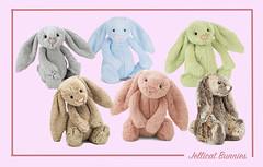 Jellicat Bunnies (M.P.N.texan) Tags: collage bunny bunnies toy toys plush soft babytoy jellicat