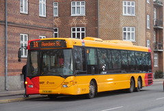 Boxing day bus at work in Copenhagen - Scania Omnilink Arriva 1520 route 1A (sms88aec) Tags: boxing day bus work copenhagen scania omnilink arriva 1520 route 1a