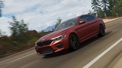 BMW M5 (F90) (PixelGhostClyde) Tags: forza motorsport horizon fh4 turn 10 studios t10 playground games pg microsoft xbox one xb1 xbone x xb1x autumn bmw m5 4wd twin turbo v8 frozen dark red launch edition