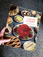 A Calendar of Desserts, 1940 (ruthlesscrab) Tags: cookbook recipe vintage 1940 dessert