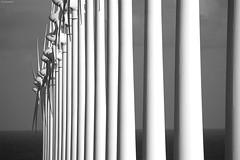 Windmills (KnutAusKassel) Tags: bw blackandwhite blackwhite nb noirblanc monochrome black white schwarz weiss blanc noire blanco negro schwarzweiss windmills windräder