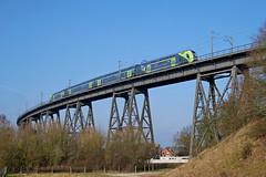P1760518 (Lumixfan68) Tags: eisenbahn züge triebzüge baureihe 445 bombardier twindexx vario et deutsche bahn db regio nahsh doppelstockzüge