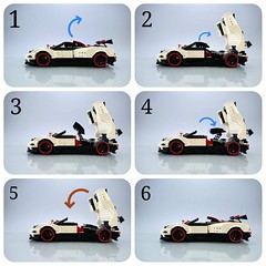 LEGO Pagani Zonda Cinque (Firas Abu-Jaber) Tags: lego legocar legomoc legomodel legocreation photography pagani photographer afol afols italy instagram flickr firaslego car creation creator cool sportscar supercar scalemodel art handmade