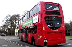 London General E150 on route 118 Mitcham 17/02/19. (Ledlon89) Tags: bus buses transport london morden surrey londonbus londonbuses goaheadlondon abellio qualityline mordenstation tfl transportforlondon londongeneral