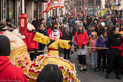 Let the dragon show begin. (kuntheaprum) Tags: chinatownboston chinesenewyearcelebration yearofthepig sony a7riii tamron 2470mm f28 festival parade dragon firework