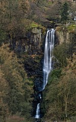 Another perspective on the awesome Pistyll Rhaeader waterfall in North Wales (Bill Daniels (UK)) Tags: xt3 snowdonia wales waterfalls falls cascade waterfall