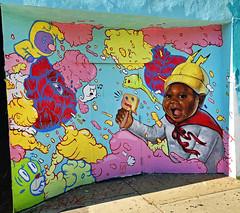 Popsicle Dreams by Kayla Mahaffey (wiredforlego) Tags: graffiti mural streetart urbanart aerosolart publicart chicago illinois ord kaylamahaffey