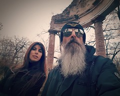 Elena Alice with her soul mate, Kirlian Camera co-producer Mr. Angelo Bergamini, 2019 (Kirlian Camera) Tags: kirliancamera elenaalicefossi angelobergamini elenafossi elenaalicefossibergamini elenaalicebergamini elenaalicefossineracroce alicenevefox alice elena italianamerican italian musician musicmaker musicproducer composer duo bnad controversial decadence european rebel warrior warrioroflight winter apocalypse electronicmusic electronica darkwave independentmusic goth popmusic electropop electro electronicdancemusic electronicmusician synthpop synthwave synthplayer genius legend legendary cult uncompromising resistance friendship friendsforever tilltheend astronauts timetravellers