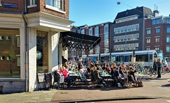 Langs de Lijn: Bijtanken (Peter ( phonepics only) Eijkman) Tags: amsterdam city combino gvb tram transport trams tramtracks trolley rail rails strassenbahn streetcars netherlands nederland nederlandse noordholland holland
