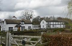 Brook Lodge 170319_DSC3300 (Leslie Platt) Tags: exposureadjusted straightened cropped cheshirewestchester huxley hoofield hoofieldlane brooklodge