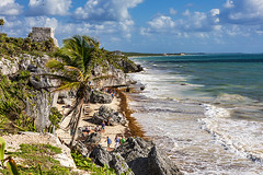 Tulum Archaeological Site (Eunice Gibb) Tags: mexico quintanaroo south caribbeansea caribbean ruins mayanruins mexicanruins archaeologicalsite archeologicalsite mayanarchaeologicalsite tulumarchaeologicalsite tulumruins playa beach playabugambiglia tulum tulumbeach