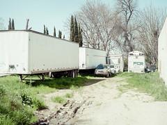 San Jose, California (bior) Tags: pentax645d sanjose street california smc pentaxa 645 70mm f28 smcpentaxa64570mmf28 dirtlot trailer semitrailer