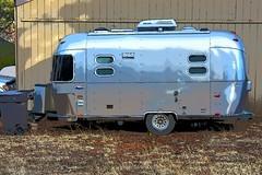 Camper (thomasgorman1) Tags: camper camping trailer nikon az effects colorized processed treated arizona outdoors yard grass garage