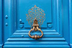 Blue Door in Paris (Melanie Alexandra Photography) Tags: parisdoorknocker parisfrance parisianapartment parisdoors