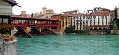 Ponte Vecchio / Ponte degli Alpini (Vid Pogacnik) Tags: italy italia bassanodelgrappa pontevecchio pontedeglialpini bridge brenta river veneto