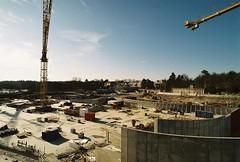 Albanobygget, grundplattorna klara (Linzen004) Tags: stockholm stockholmsuniversitet albano bygge