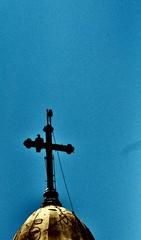 Copyright © 2019 Felipe L. Gonçalves. All rights reserved. (Felipe L. Gonçalves) Tags: cruz ave rapina urubu igreja religião calvário paróquiasãopaulodacruz igrejadocalvário fotografia autoral nikon nature praçabeneditocalixto felipelgonçalves