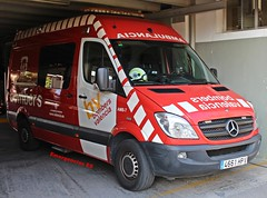 Bomberos Valencia (emergenciases) Tags: emergencias españa 112 valencia comunidadvalenciana bomberosayuntamientodevalencia ayuntamientodevalencia vehículo coche ambulancia soportevitalbásico svb mercedesbenz sprinter