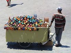 morocco 2014 (gerben more) Tags: morocco marokko marrakech marrakesh vendor tajine