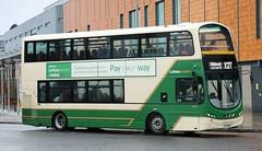 Lothian Country 1048 LXZ 5436 leaves Livingston Bus Terminal with an X27 service to Edinburgh. (Gobbiner) Tags: lothiancountry x27 livingstoncentre b9tl wrightbus bf60uua eclipsegemini vw1842 metrolinewest volvo vn37890 centrewest lxz5436 london edinburgh 1048