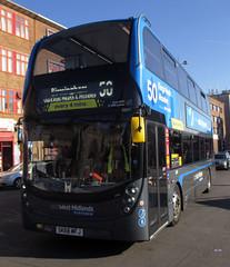 National Express West Midlands bus 6907 (photobobuk - Robert Jones) Tags: nationalexpress westmidlands 6907 bus bullring birmingham uk