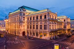 Vienna opera at the blue hour. Austria (mixtli1965) Tags: opera viena austria europa arquitectura viajes turismo viajar iluminado horaazul noche nikon d7100 vienna europe architecture travel tourism illuminated bluehour night