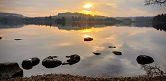Clunie Sunset (jonathan.scaife81) Tags: loch clunie dunkeld blairgowrie essendy butterstone perthshire scotland samsung galaxy s9 sunset shadow reflection landscape evening
