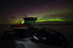 Aurora Prairie Star (lot16ca) Tags: aurora nightphotography nothernlights prairiestar spaceweather