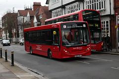 DE20068, Trainer, Turnham Green Church (Jack Marian) Tags: de20068 trainer turnhamgreenchurch alexander alexanderdennis dennis alexanderdennisenviro200dart enviro enviro200 e200 buses bus london