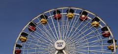 Ferris Wheel.JPG (remiklitsch) Tags: ferris ferriswheel pacificpark amusementpark blue red yellow steel evening color colorful remiklitsch leica santamonica santamonicapier