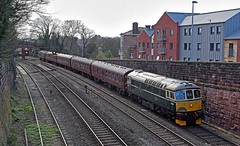 Branchline Tour at Chester (garstangpost.t21) Tags: 1z87 westcoastrailways chester cheshire branchlinesociety westkirby southport bls